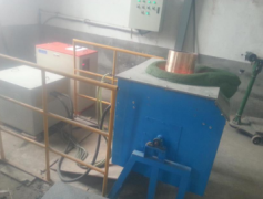 Medium frequency copper melting furnace