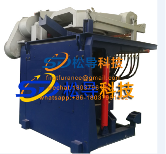 1T induction melting furnace